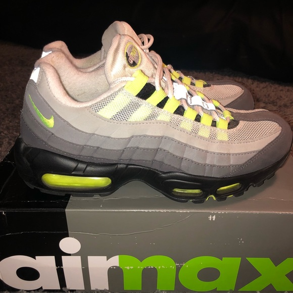 Nike Shoes Air Max 95 Og Neon Size 75 Poshmark